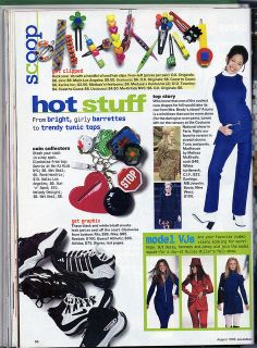 Seventeen Magazine, August 1996 by Look In The Tunk, via Flickr