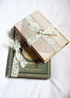 vintage book ring holder. photo by Brandon Werth