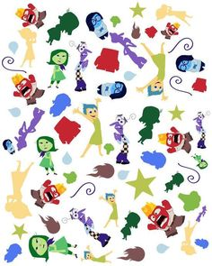 Discovered by Find images and videos about wallpaper, pixar and inside out on We Heart It - the app to get lost in what you love. Inside Out Characters, Movie Inside Out, Disney Inside Out, Harry Potter Disney, Disney Images, Disney Art, Disney And Dreamworks, Disney Pixar, Disney Wallpaper