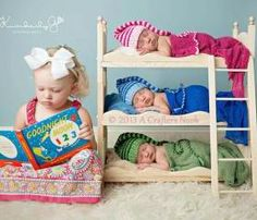 Love this! LOVE LOVE LOVE! Big sister with triplets.