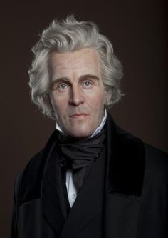 United States Presidents Gallery at Madame Tussauds DC: Andrew Jackson