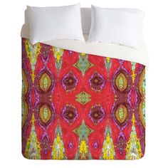 Ingrid Padilla Fancy Red Duvet Cover | DENY Designs Home Accessories