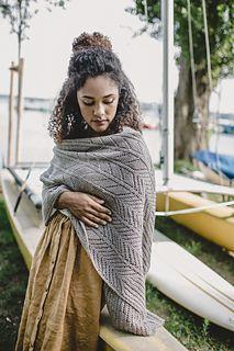 Ravelry: Cara pattern by Emily Greene Shawl Patterns, Afghan Crochet Patterns, Knitting Patterns, Creative Knitting, Knitting For Kids, Minimalist Pattern, Knitted Shawls, Knitted Scarves, Viking Knit