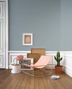 Rocking chair designed by Muller Van Severen
