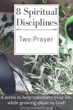 8 Spiritual Disciplines: Two: Prayer The relationship developed with God through prayer is priceless, it is a true gift. Don't rob yourself of the most important relationship of your life. Check out this post, filled with helpful tips on how to start praying powerful prayers. #prayer #spiritualdisciplines #god #faith #pray #powerofprayer #lettinghislightshine #christianliving #godfirstlife
