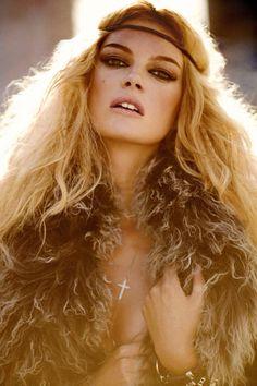 Boho Inspired make-up & hair
