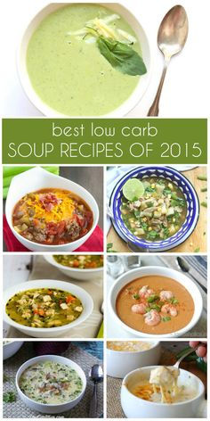 Best low carb, keto, and paleo soup recipes of 2015
