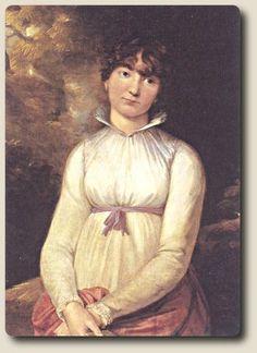 Otto Philipp Runge,Pauline in weißem Kleid