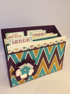 Stamp with Esther: Keeping tabs on you box - Stampin' Up! supplies