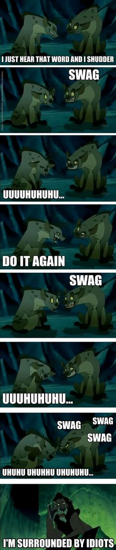 Swag Hyenas // funny pictures - funny photos - funny images - funny pics - funny quotes - #lol #humor #funnypictures