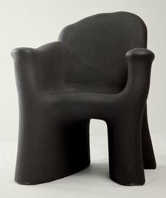 Gaetano PESCE Fauteuil Petit fauteuil Dalila Tre,1980