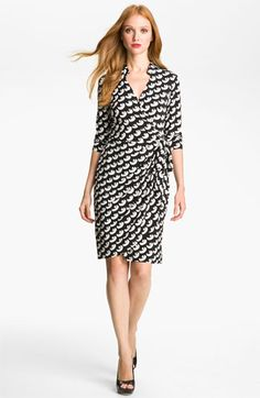 4b7b5970d0a Maggy London Print Jersey Wrap Dress