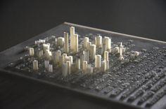 Hongtao Zhou: Typografie mit Textur aus dem 3D-Drucker