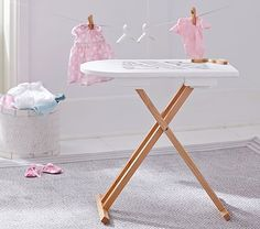 Clean As A Whistle Ironing Board #pbkids