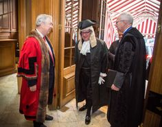 The Queen's Remembrance (the Trial Judge) arrives at Goldsmiths' Hall, City of London - Trial of the Pyx 2014