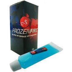 Frozen Fire 10g - Se asua relação anda meio sem graça, um tanto gelada, ou se vocês dois só estão àprocura de novas sensações, então o FrozenFire 10g é, com certeza, o produto certo para vocês.