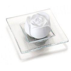 Duftstein Rosenblüte mit Glasteller bestellen   weltbild.de