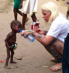 Photos of starving Nigerian 'witch' toddler prompt outpouring of charitable donations Tegucigalpa, Structured Water, Famous Pictures, Parents, Charitable Donations, World Quotes, Two Year Olds, Faith In Humanity, One In A Million