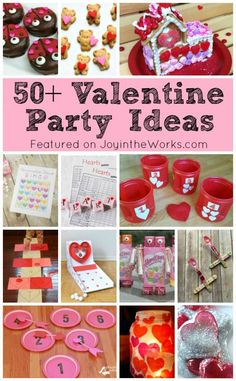 50+ Valentine's Day Class Party Ideas - the best Valentine's Day Crafts, Valentine's Day Games and Valentine's Day snacks all in one place! #valentinesdayclassparty #valentinesdayclasspartyideas #valentinesdayactivities #valentinesdaygames #valentineparty #valentinesdaygames