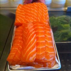 Isn't our salmon beautiful? Pair that with some Sake & Presto!!! A Perfect Pairing!  - @eatatunion- #webstagram