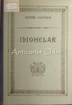 Idiomelar. Partea Intaia - Dimitrie Suceveanu Cover, Books, Libros, Book, Book Illustrations, Libri