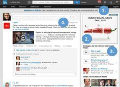 LinkedIn für Marketing: Funktioniert das wie Facebook?