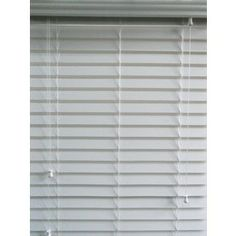 Allen Roth   In White Faux Wood Room Darkening Horizontal Blinds