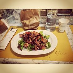 I ate tonight #tonight #cena #friends #eataly #smeraldo #tagliatadicarne #insalata #milan #city #like #pinterest #instagram #tumblr #twitter #foursquare #facebook #food (presso Eataly Milano Smeraldo)