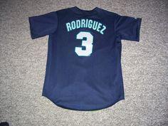 Vintage Alex Rodriguez Seattle Marniers MLB Reversible Majestic Jersey-M (EUC) #SeattleMariners