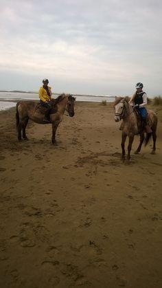 horseback riding at L'Espiquette
