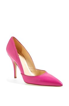 kate spade new york 'lottie' pump (Women) Hot Pink Pumps, Pink Heels, 6 Inch Heels, Shoes 2014, Nordstrom Anniversary Sale, Perfect Pink, Chanel Handbags, Classy And Fabulous, Ladies Day
