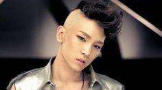 "ShinEE Key ""Lucifer"" half shaved, two-tone hair back in 2010 *he rocked the style waay before Cher Lloyd!*"