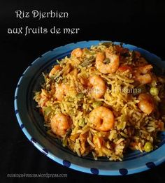 Fish Recipes, Pasta Recipes, New Recipes, Favorite Recipes, Arabian Food, Indian Dishes, Paella, Yummy Treats, Risotto