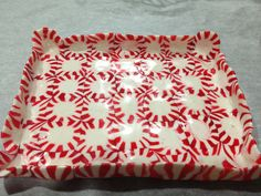 Peppermint Plate Bake at 350 on parchment paper for 8-10 minutes. once it & How to Make Edible Candy Plates\