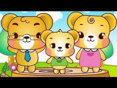 곰세마리 : Three Bears | 유아 동요, 율동 동요, Children Song, Nursery Rhyme - YouTube