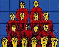 Martin Clunes/Gilbert and George/World John Minton, Gilbert & George, Martin Clunes, George Martin, David Hockney, Contemporary Art, My Arts, World, School