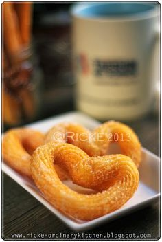 Just My Ordinary Kitchen...: CHURROS Onion Rings, Churros, Ethnic Recipes, Kitchen, Food, Cooking, Kitchens, Essen, Meals