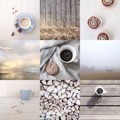 Coffee moments. Moodboard. Nordic living. Scandinavian lifestyle. Neutrals. Simple. Folk. Rustic. By Johanna Sandberg.