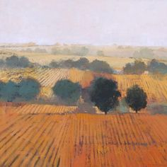 Perspective: Atmospheric, Linear  atmospheric perspective/linear perspective--3 line landscape (Paul Balmer)