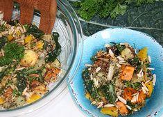 Warm Roasted Vegetable Quinoa Salad | Reboot With Joe