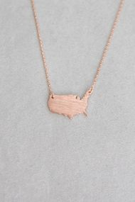 USA Solid Necklace ($15)