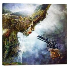 Cortesi Home Betrayal by Mario Sanchez Nevado, Giclee Canvas