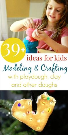 39+ Clay and Playdough Ideas for Kids