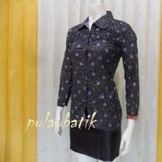 baju batik kerja pria RC409 Rp95000  Moda Indonesia  Pinterest