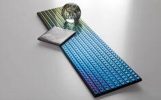 Metalización de una pieza pulida con relieve. Cerámica. Physical vapour deposition. http://www.ceramicayarquitectura.com