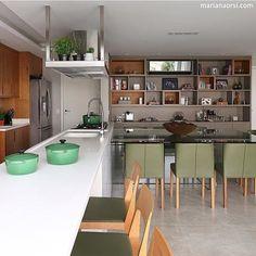 Kitchen  (Projeto Mandril Arquitetura | Foto Mariana Orsi)