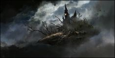 ArtStation - Witch Town, Chris Cold