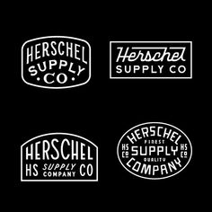 🎒 Patch designs for Herschel 🎒 Vintage Typography, Typography Logo, Typography Design, Branding Design, Corporate Branding, Logo Branding, Herschel Supply Co, Badges, Patch Design