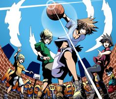 There's so many sora copies he can literally have his own team
