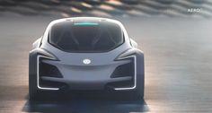 Volkswagen Aero-B by Jisoo Kim Pole Star, Futuristic Cars, Transportation Design, Future Car, Automotive Design, T Rex, Motor Car, Concept Cars, Exterior Design
